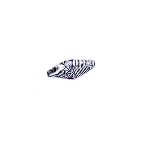 Große 925 Silber Perlen Alte Bali Perlen aus den 70er Tolle Arbeit