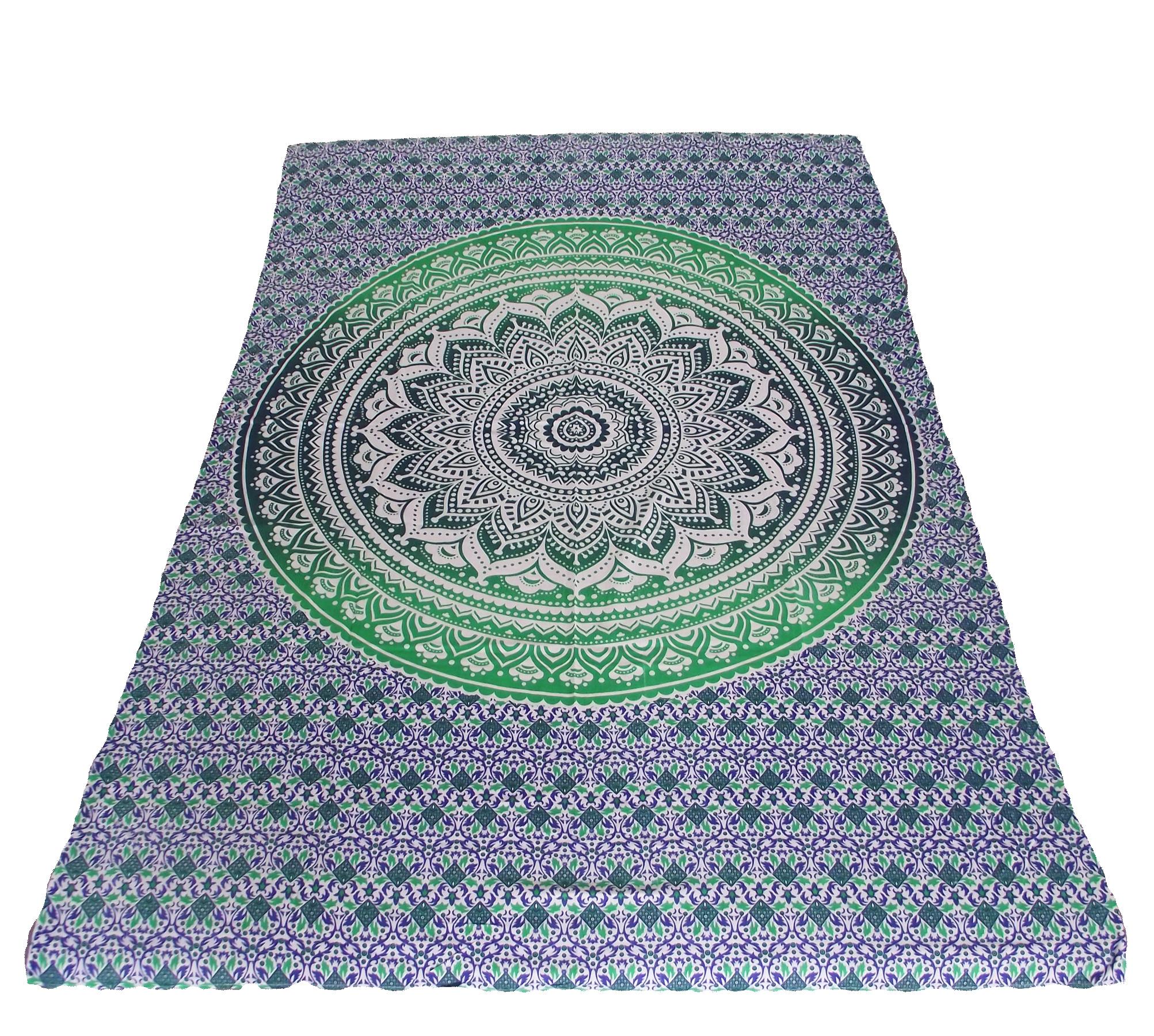 WebdeckeTagesdedcke Wandtuch Tuch Bettüberwurf Bed Cover Sonne Indien Sultan
